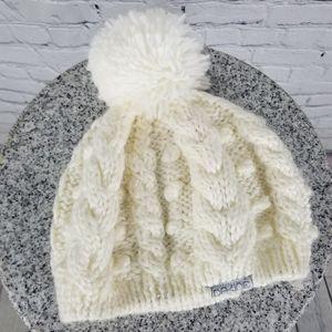 DAKINE | cable knit pompom bauble winter hat